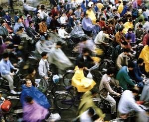 Vélos en Chine