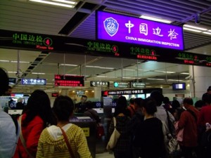 Controle Immigration Chine