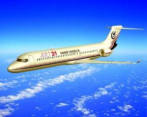Envol du premier Jet chinois