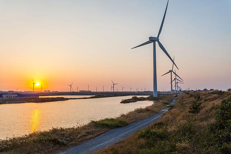La Chine 4ème pays de l'éolien