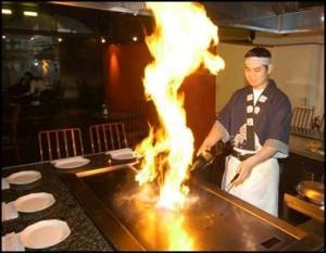 Gintei restaurant japonnais à Shanghai