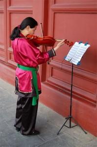 Le violon chinois en pleine croissance-Chinecroissance