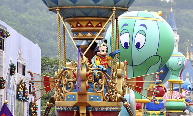 Disneyland arrive en Chine