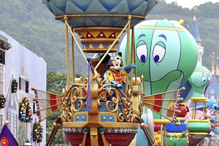 Disneyland arrive en Chine