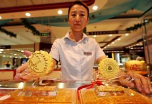 1054 tonnes d'or de reserve en Chine - Chinecroissance