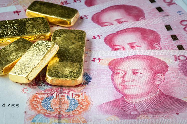 Chiffre : 1054 tonnes d'or de réserve en Chine