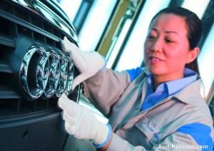 Audi a du mal a suivre la croissance chinoise