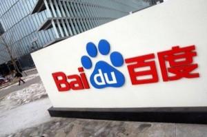 Hausse de Baidu, merci Google