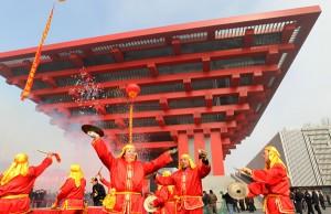 Le pavillon chinois accessible apres l'expo universelle