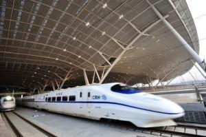 Le train le plus rapide du monde en Chine