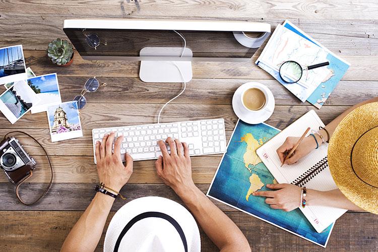 Augmentation des agences de voyage sur Internet