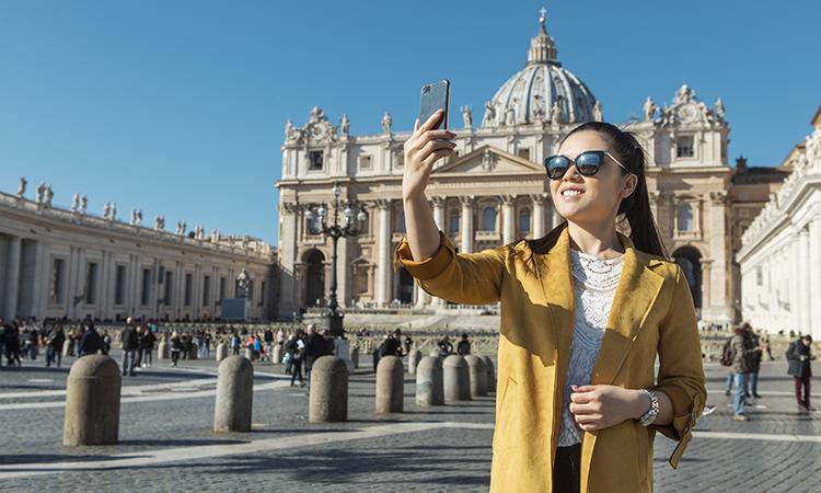 Hausse de 22% des touristes chinois à l'étranger