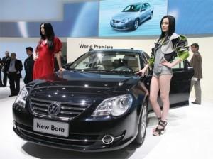 Progression record en Chine, USA et Russie pour Volkswagen-Chinecroissance