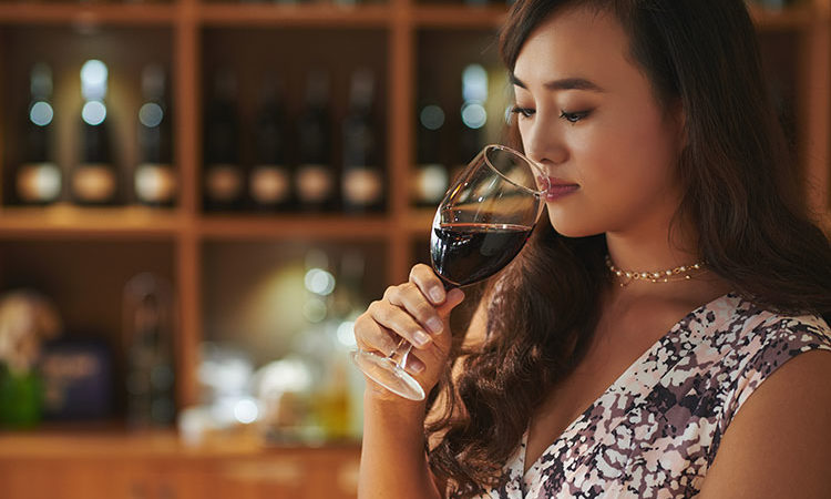 Les chinois préferent le vin rouge
