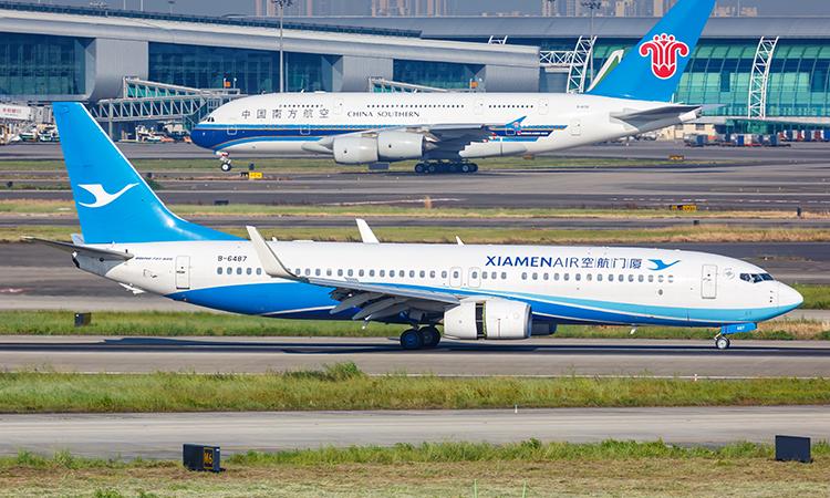Achat de 30 Boeing 737 par Xiamen Airlines