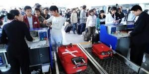 En Chine comment ne pas payer excedent bagage aeroport