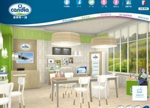 Candia ouvre des magasins en Chine pour vendre du lait pour bebe-chinecroissance