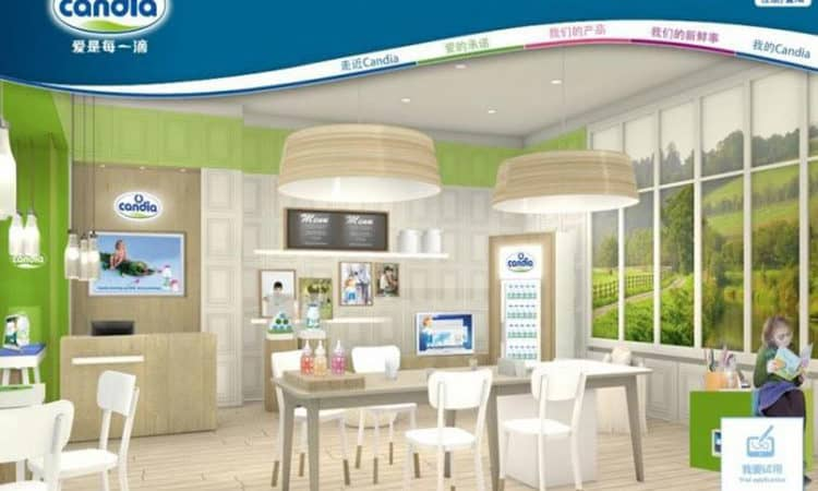 Candia ouvre des magasins en Chine pour vendre du lait pour bébé