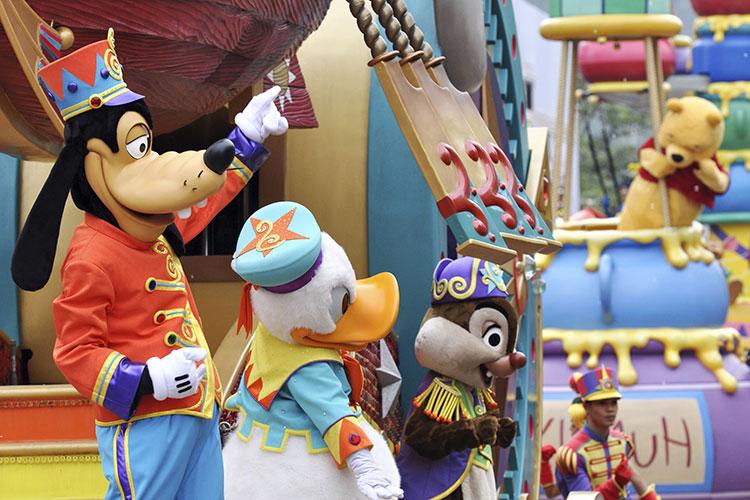 L'ouverture du Disney Store de Shanghai !