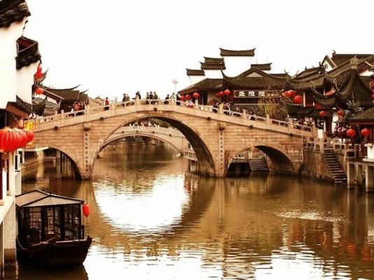 villes-deau-près-de-shanghai-Chinecroissance